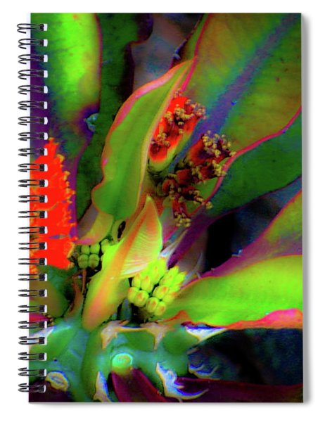 Plants And Flowers In Hawaii Spiral Notebook