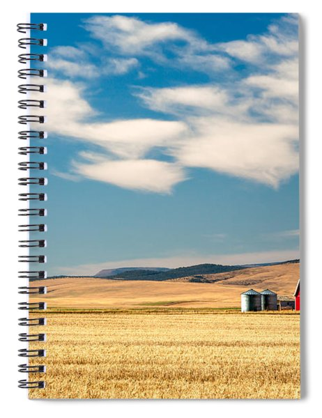 Prairie Red Spiral Notebook