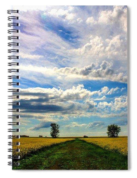 Prairie Sky Spiral Notebook