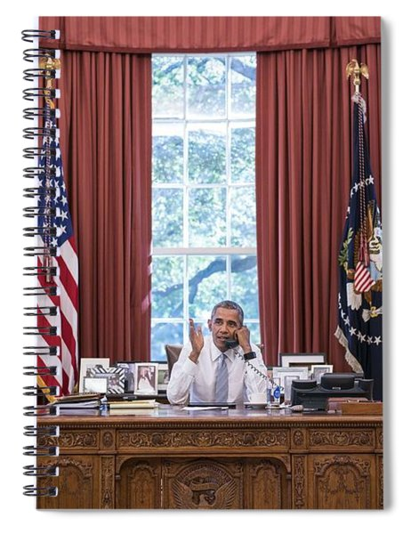 President Barack Obama Spiral Notebook