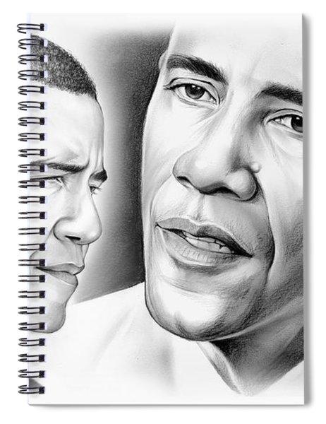 President Barack Obama Spiral Notebook