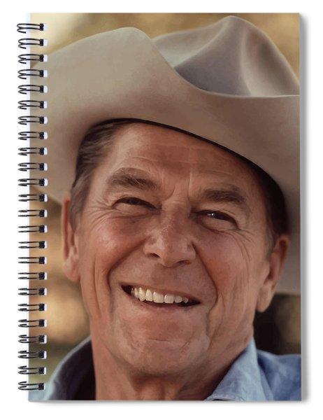 President Ronald Reagan Spiral Notebook