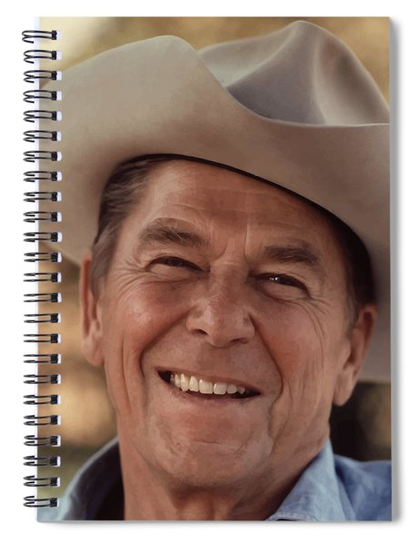 President Ronald Reagan Spiral Notebook