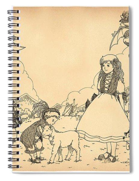 Prince Henry And Prince Richard Spiral Notebook