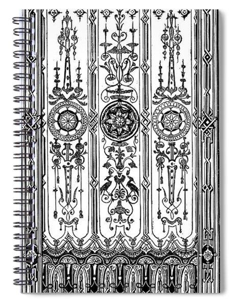 Prize Design For A Roller Window Blind Spiral Notebook