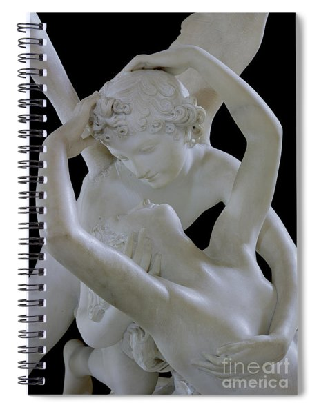 Psyche Revived By The Kiss Of Cupid Spiral Notebook