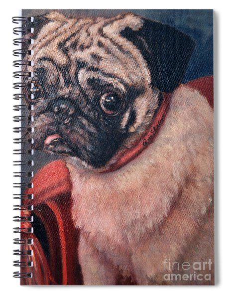 Pugsy Spiral Notebook