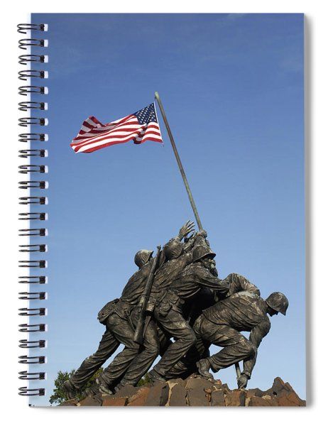 Raising The Flag On Iwo - 799 Spiral Notebook