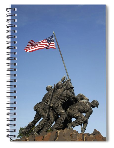 Raising The Flag On Iwo - 799 Spiral Notebook