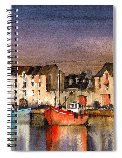Ramelton Dusk, Donegal. Spiral Notebook