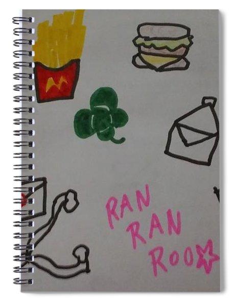 Ranranroo Spiral Notebook