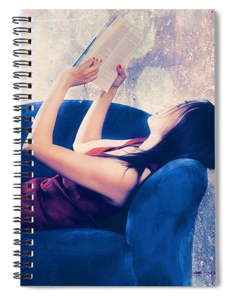 Reading Spiral Notebook