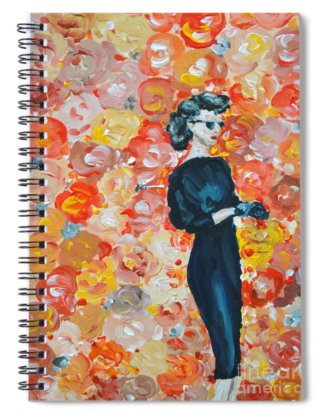 Ready To Love Spiral Notebook