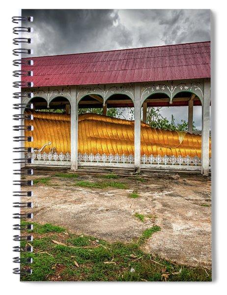 Reclining Buddha Spiral Notebook