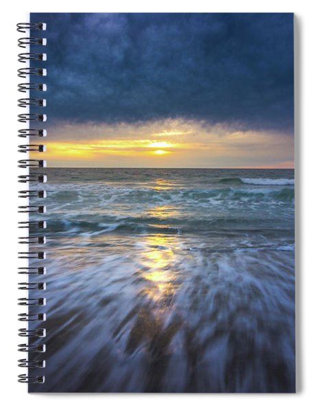 Redondo Beach Sunset Spiral Notebook
