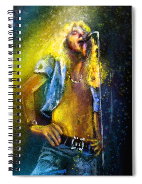 Robert Plant 01 Spiral Notebook