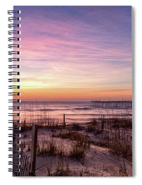 Rodanthe Sunrise Spiral Notebook