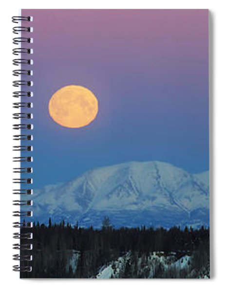 Rosewood Spiral Notebook