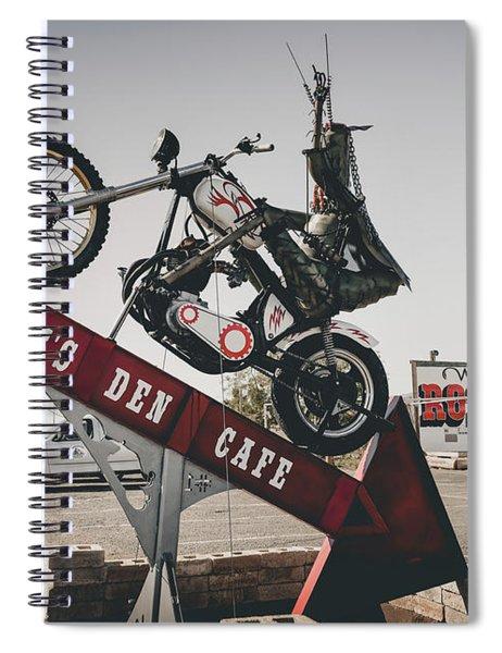 Rosies Den Cafe Spiral Notebook