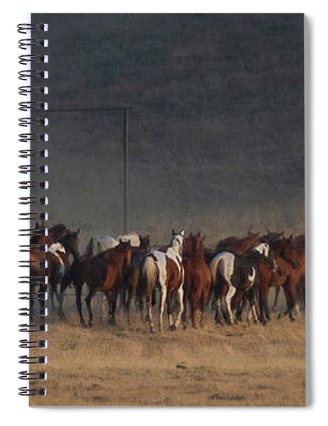 Round Up Spiral Notebook