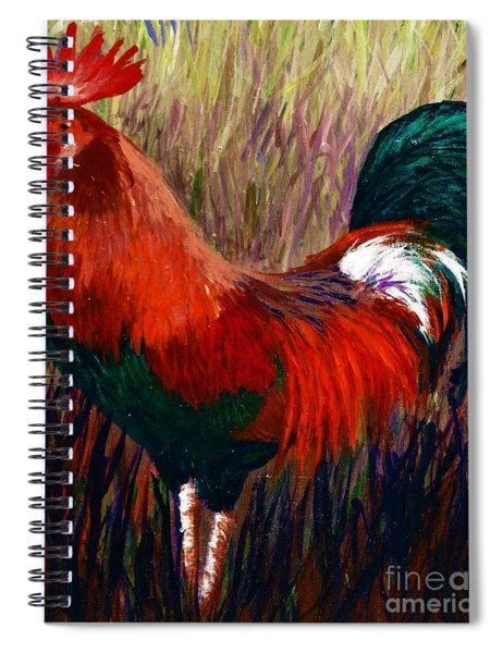 Rudy The Rooster Spiral Notebook