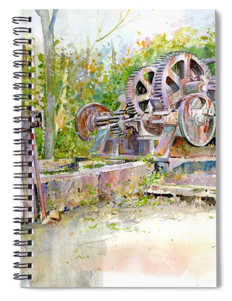 Rusting Relic Spiral Notebook