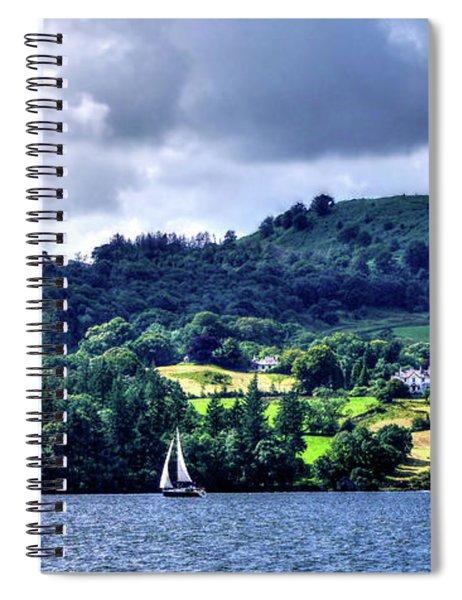 Sailing Lake Windermere Spiral Notebook