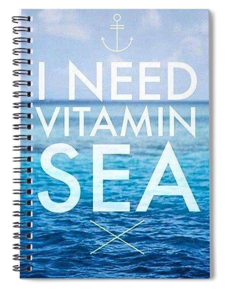 Vitaminsea Spiral Notebook