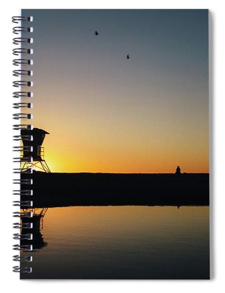 Seaside Beach Spiral Notebook