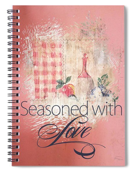 Seasoned With Love Spiral Notebook
