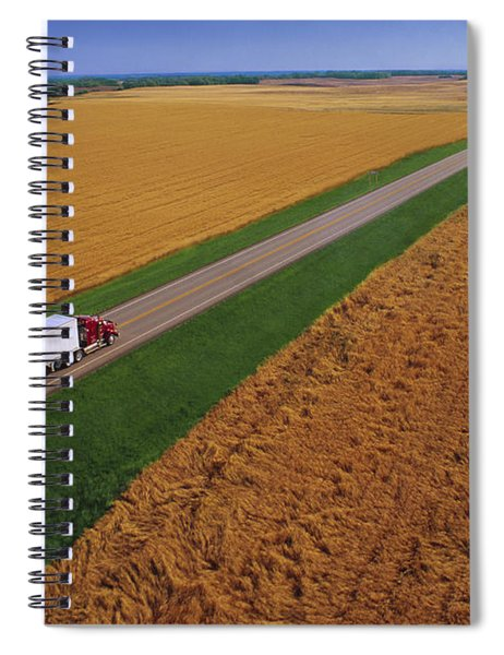 Semi-trailer Truck Spiral Notebook