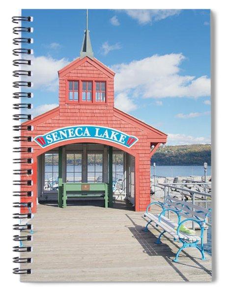 Seneca Lake Spiral Notebook