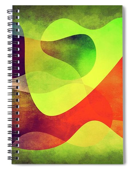 Shapes 3 Spiral Notebook