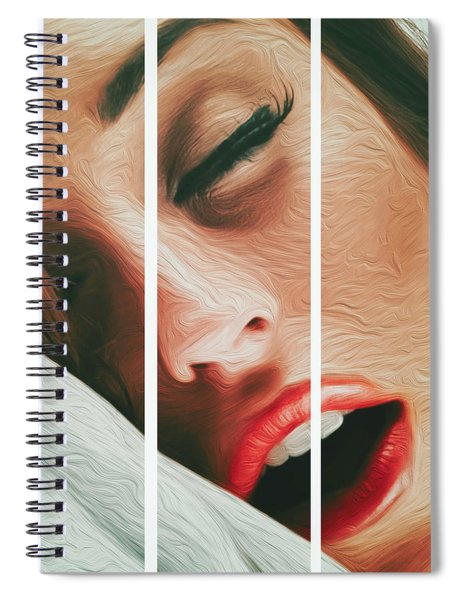 Side Kiss- Spiral Notebook