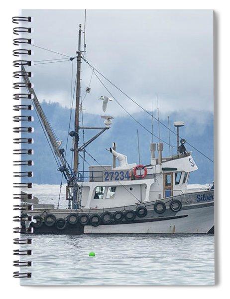 Silver Totem Spiral Notebook