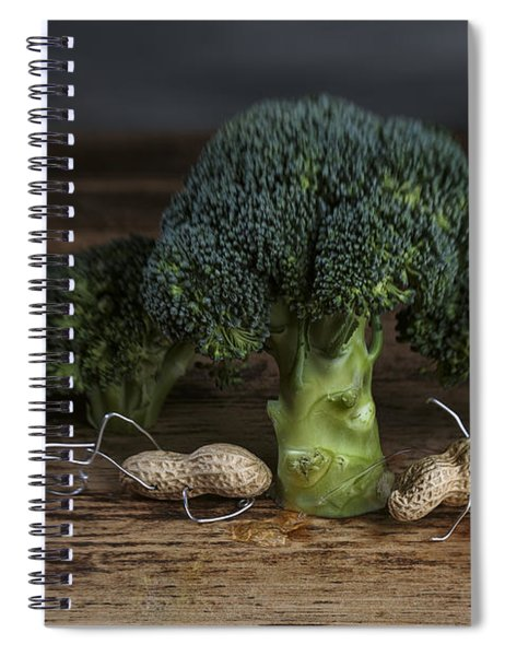 Simple Things - Man And Dog Spiral Notebook