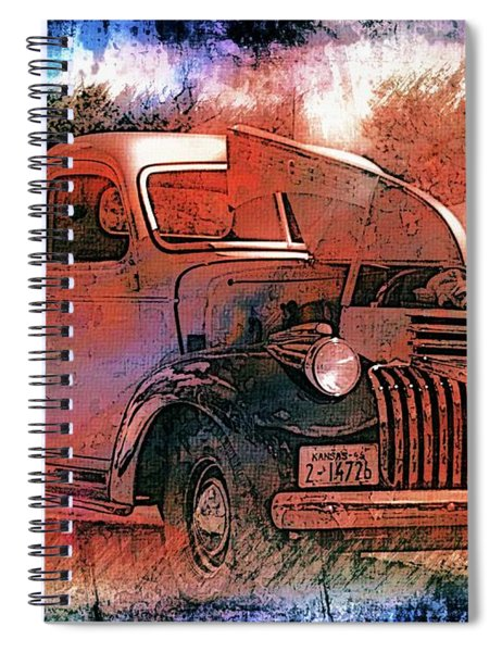 Smooth Ride Spiral Notebook