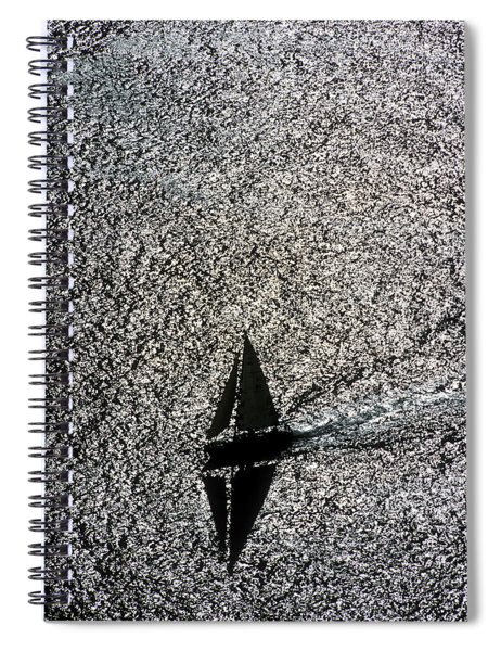 Sailing Into Solitude Spiral Notebook