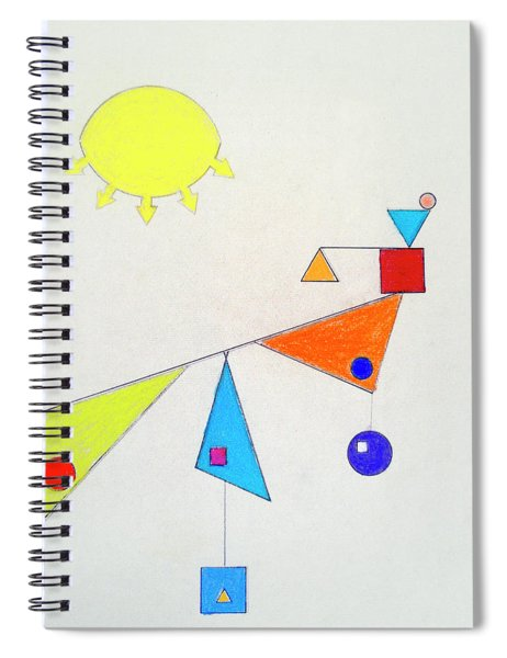 Something New Under The Sun Spiral Notebook