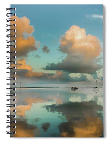 Sound Of Silence Spiral Notebook