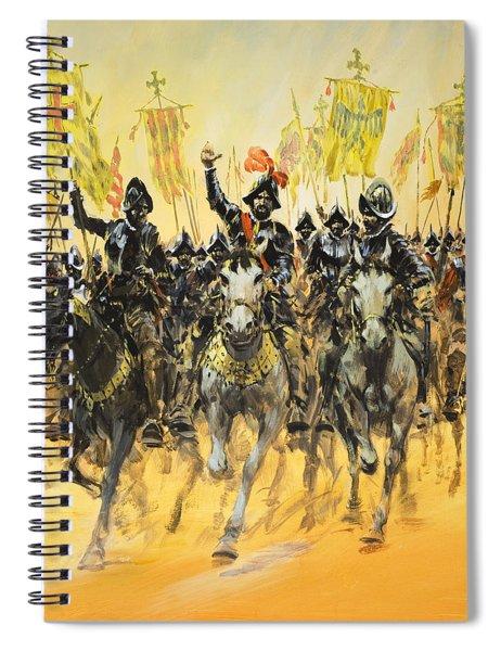 Spanish Conquistadors Spiral Notebook