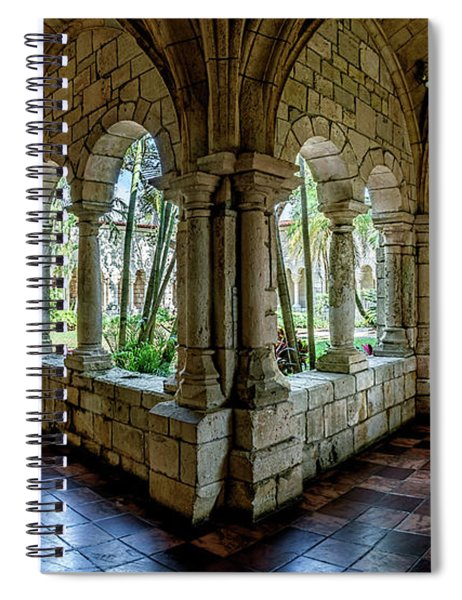 Spanish Monastery Spiral Notebook