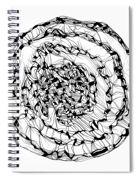 Spiral Timescape Spiral Notebook