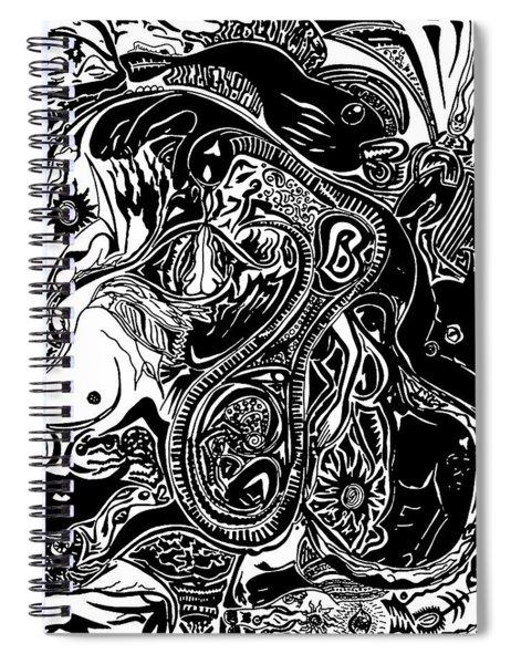 Spiritualbecoming Spiral Notebook