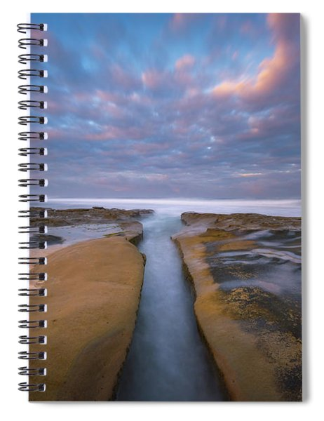 Where Worlds Divide  Spiral Notebook