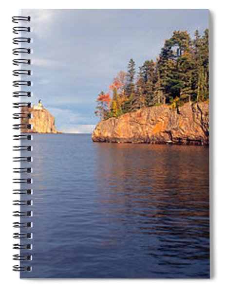Split Rock Lighthouse From 1905, Lake Spiral Notebook
