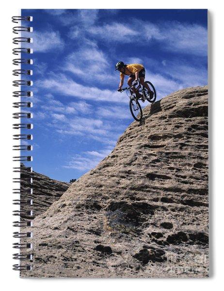 Sport Cycling Spiral Notebook
