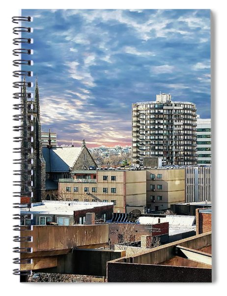 Stamford Cityscape Spiral Notebook