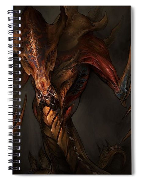 Starcraft II Wings Of Liberty Spiral Notebook