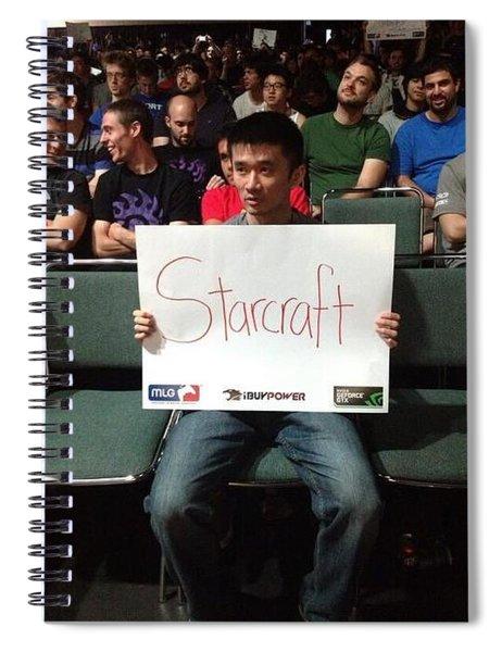 Starcraft Spiral Notebook